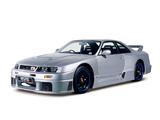 Nismo Nissan Skyline GT-R LM (BCNR33) 1995–96 images