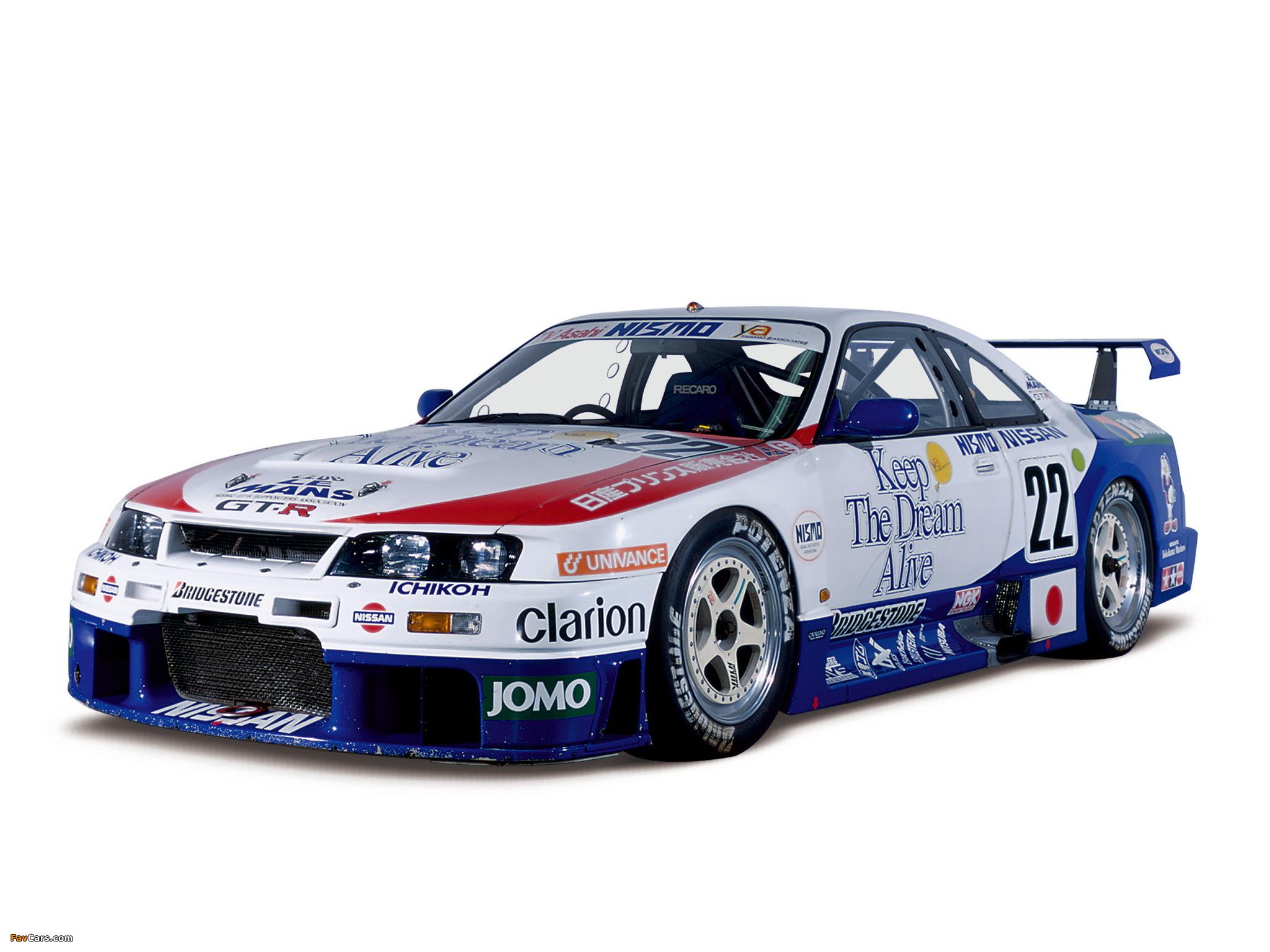Nismo Nissan Skyline GT-R LM (BCNR33) 1995–96 photos (2048 x 1536)