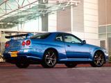 Nissan Skyline GT-R V-spec (BNR34) 1999–2002 images