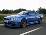 Nissan Skyline GT-R V-spec (BNR34) 1999–2002 photos