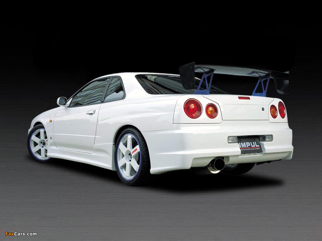 Impul Nissan Skyline GT-R (BNR34) 1999–2002 photos (1024 x 768)