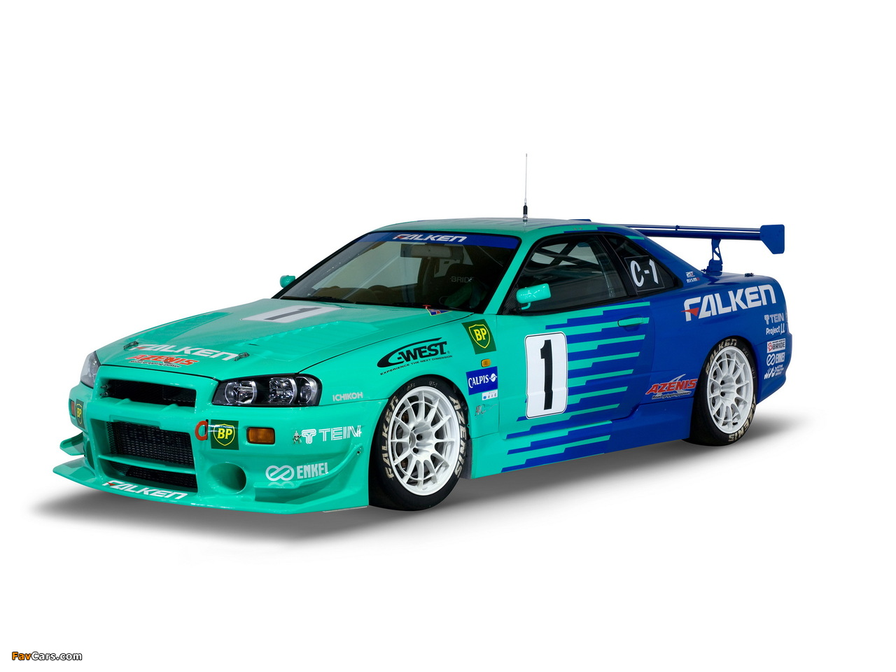 Nissan Skyline GT-R JGTC Race Car (BNR34) 1999–2003 photos (1280 x 960)