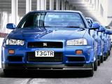 Nissan Skyline GT-R V-spec (BNR34) 1999–2002 pictures