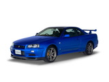 Nissan Skyline GT-R (BNR34) 1999–2002 wallpapers
