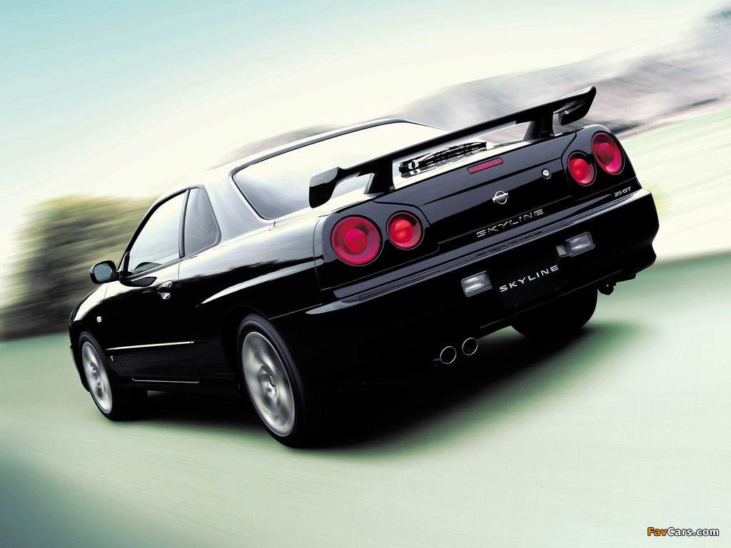 Nissan Skyline GT Turbo Coupe (R34) 2000–01 images (1024 x 768)