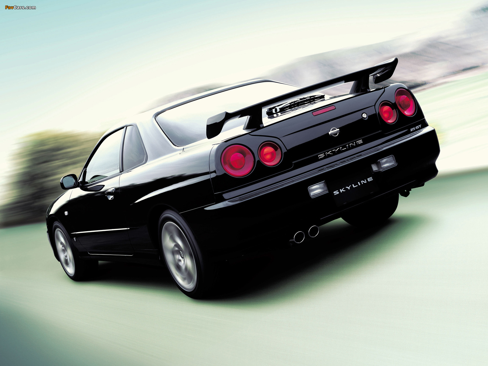 Nissan Skyline GT Turbo Coupe (R34) 2000–01 images (1600 x 1200)