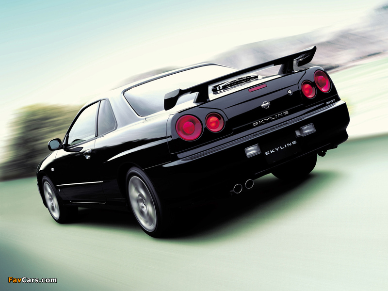 Nissan Skyline GT Turbo Coupe (R34) 2000–01 images (800 x 600)