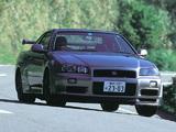 Nissan Skyline GT-R V-spec II (BNR34) 2000–02 images