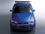 Nissan Skyline GT-R V-spec II (BNR34) 2000–02 pictures