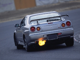 Nissan Skyline GT-R V-spec II (BNR34) 2000–02 wallpapers