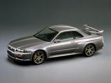 Nissan Skyline GT-R V-spec II Nür (BNR34) 2002 pictures