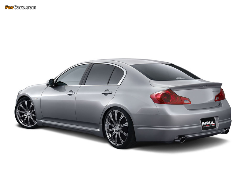 Impul Nissan Skyline (V36) 2006–10 pictures (800 x 600)