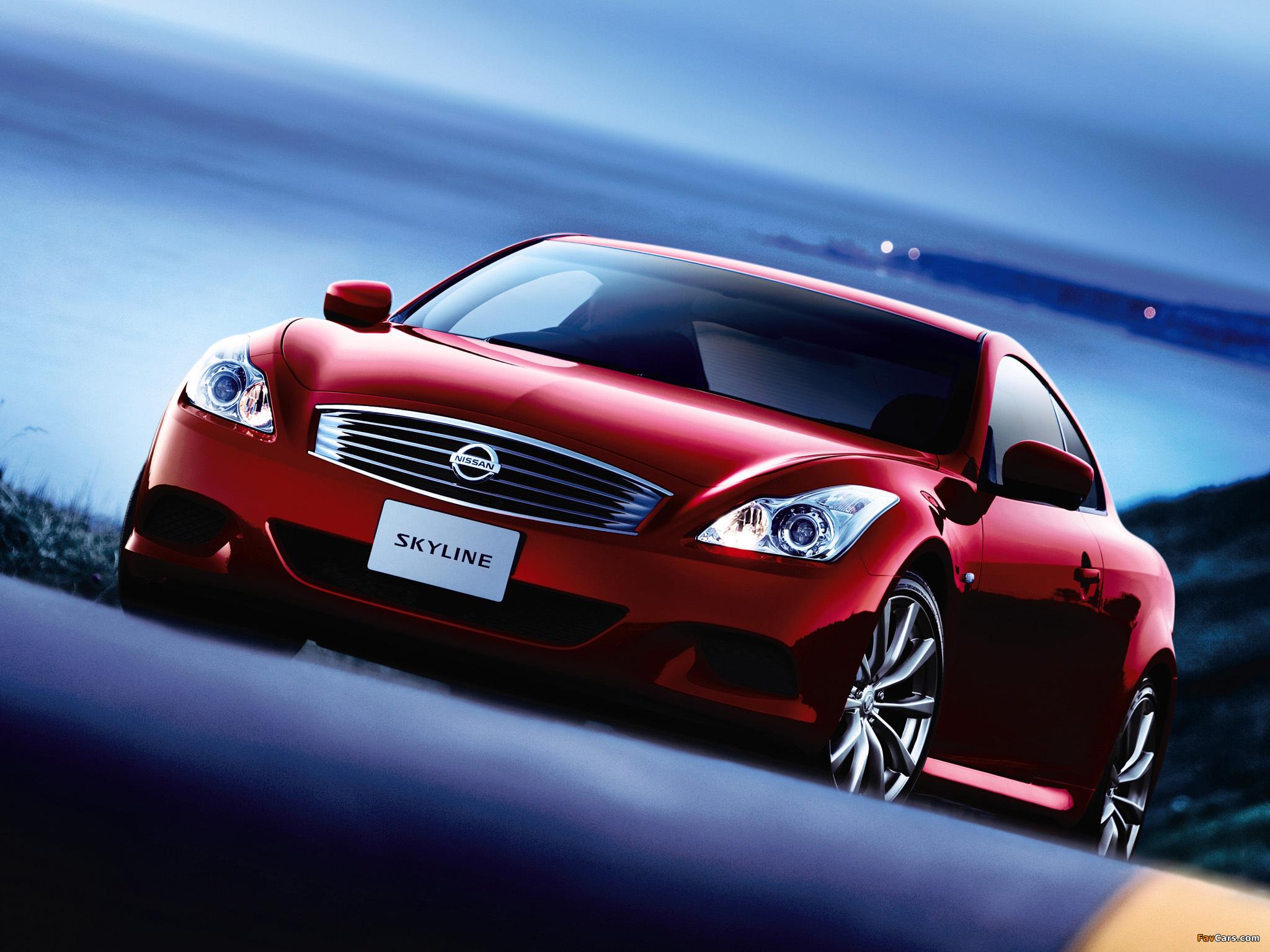 Nissan Skyline Coupe Type S (CV36) 2007–10 photos (2048 x 1536)