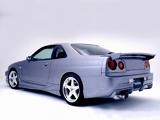 VeilSide Nissan Skyline GT-S (R34) photos
