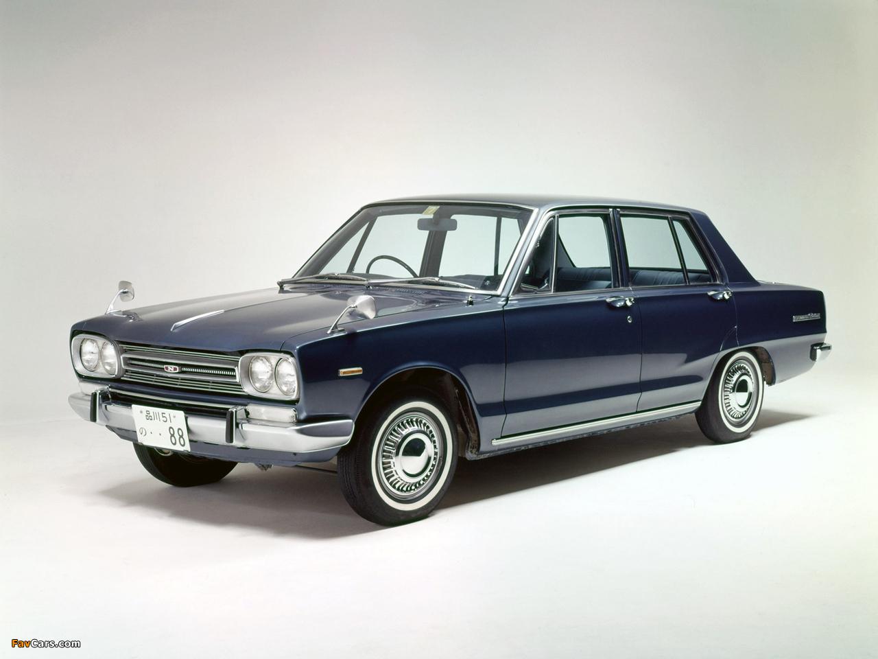Photos of Nissan Skyline 1500 Sedan (C10) 1968–72 (1280 x 960)