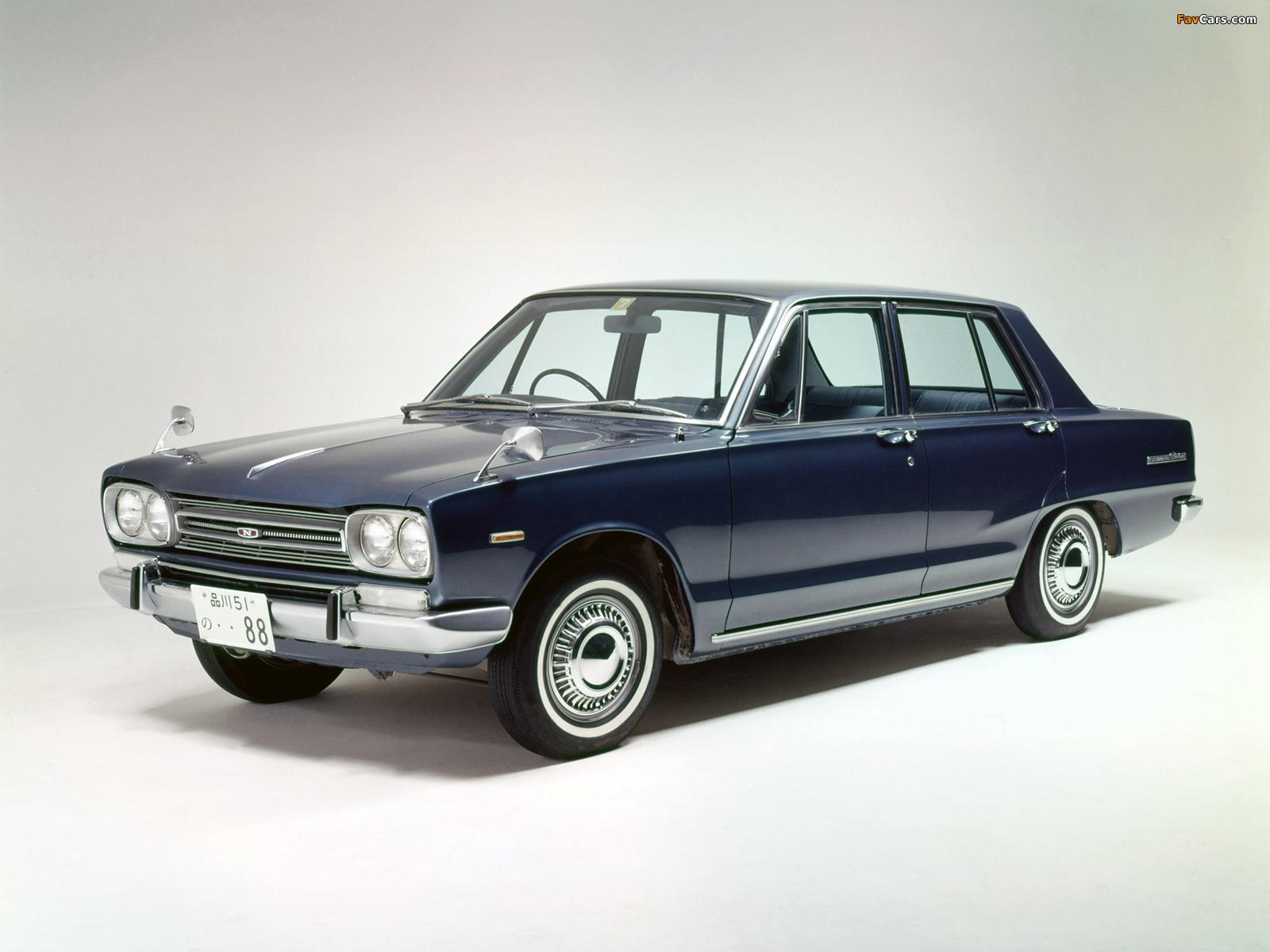 Photos of Nissan Skyline 1500 Sedan (C10) 1968–72 (1600 x 1200)