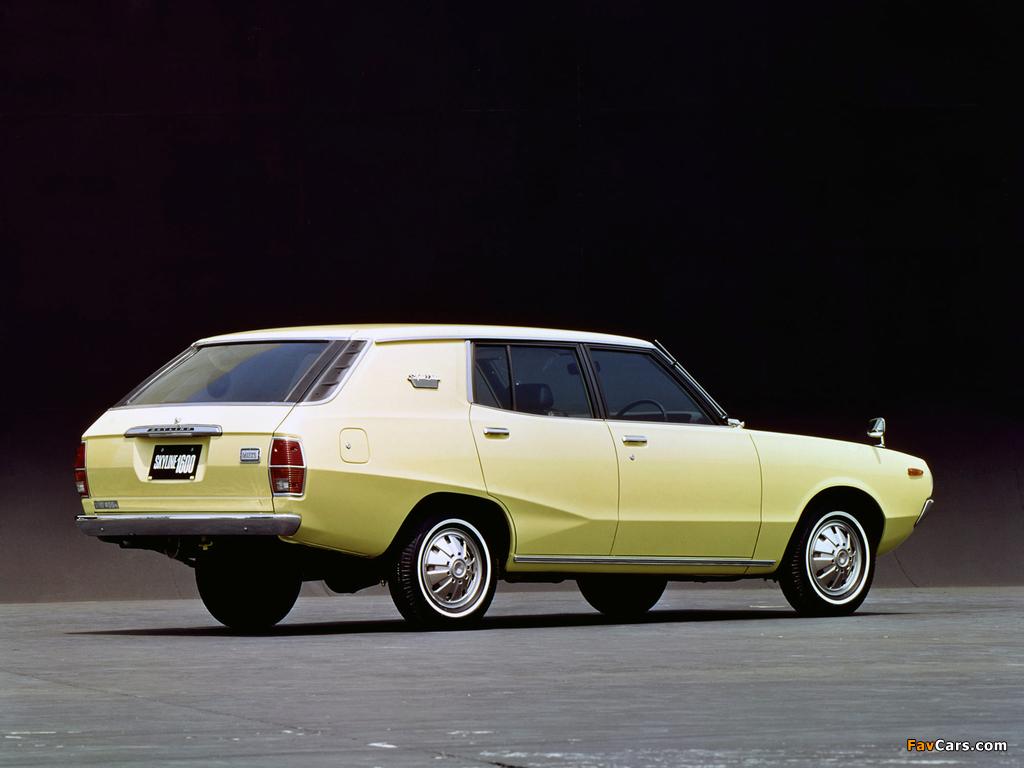 Photos of Nissan Skyline 1600 Van (VC110) 1972–75 (1024 x 768)