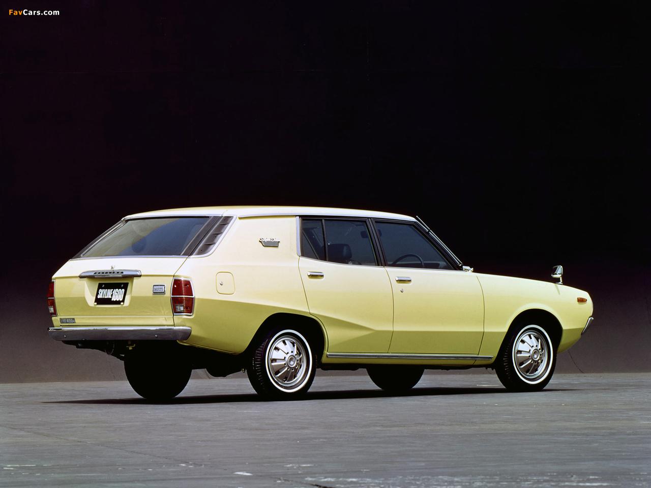 Photos of Nissan Skyline 1600 Van (VC110) 1972–75 (1280 x 960)