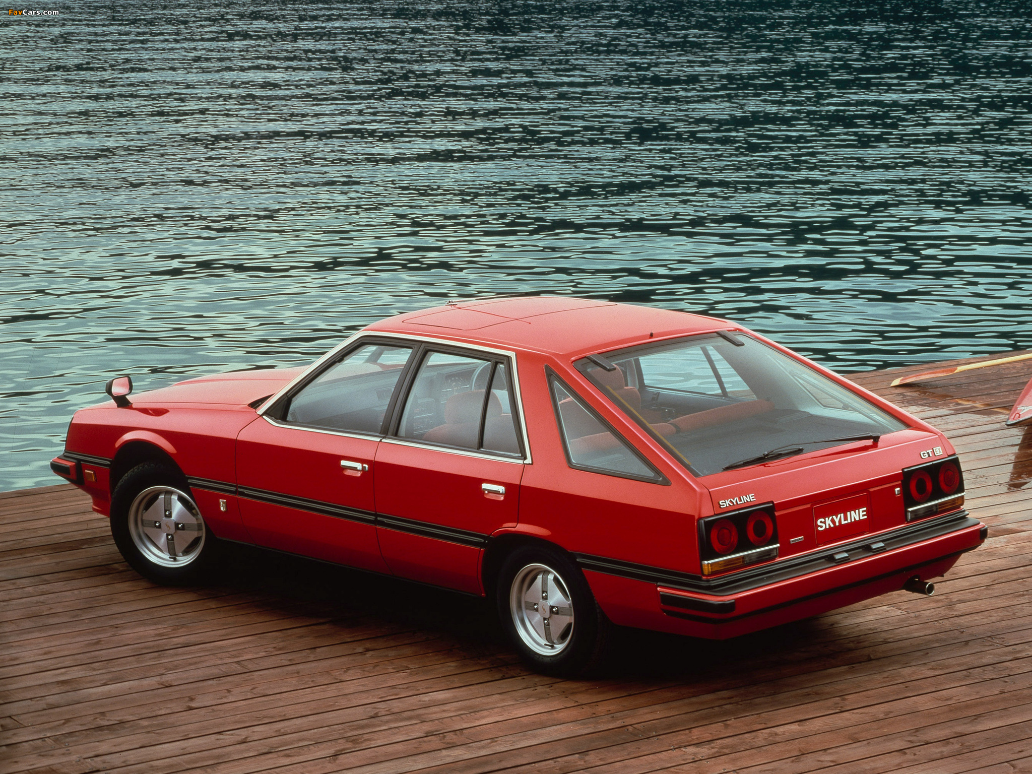 Photos of Nissan Skyline 2000GT Turbo Hatchback (RHR30) 1981–85 (2048 x 1536)