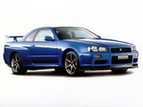 Photos of Nissan Skyline GT-R V-spec (BNR34) 1999–2002