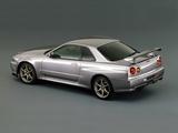 Photos of Nissan Skyline GT-R (BNR34) 1999–2002