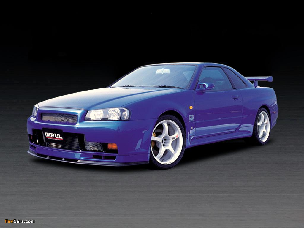 Photos of Impul Nissan Skyline GT-R (BNR34) 1999–2002 (1024 x 768)