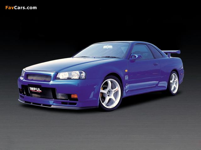 Photos of Impul Nissan Skyline GT-R (BNR34) 1999–2002 (640 x 480)