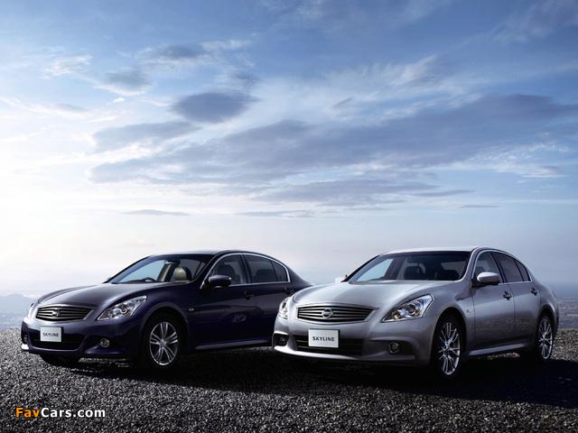 Photos of Nissan Skyline (640 x 480)