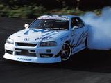 Photos of Blitz Nissan Skyline D1 Drifting (ER34) 2000
