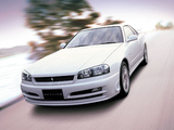 Photos of Nissan Skyline GT Turbo Coupe (R34) 2000–01