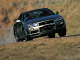Photos of Nissan Skyline GT-R V-spec II Nür (BNR34) 2002