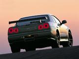 Photos of Nissan Skyline GT-R M-Spec Nür (BNR34) 2002