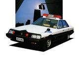Pictures of Nissan Skyline 2000GT Sedan Patrol Car (R30) 1984