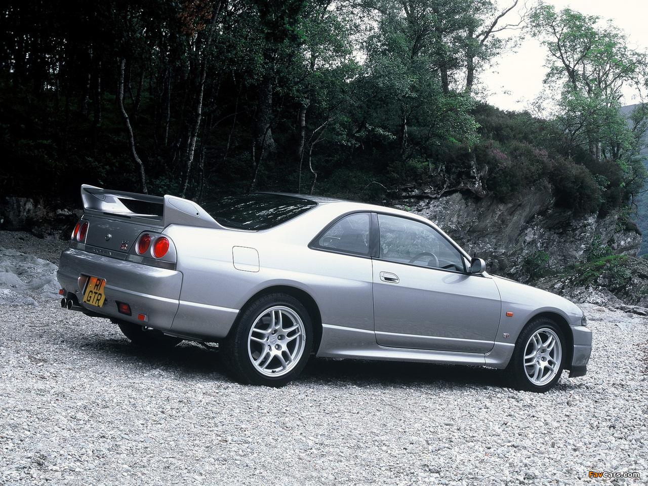 Pictures of Nissan Skyline GT-R V-spec (BCNR33) 1995–98 (1280 x 960)
