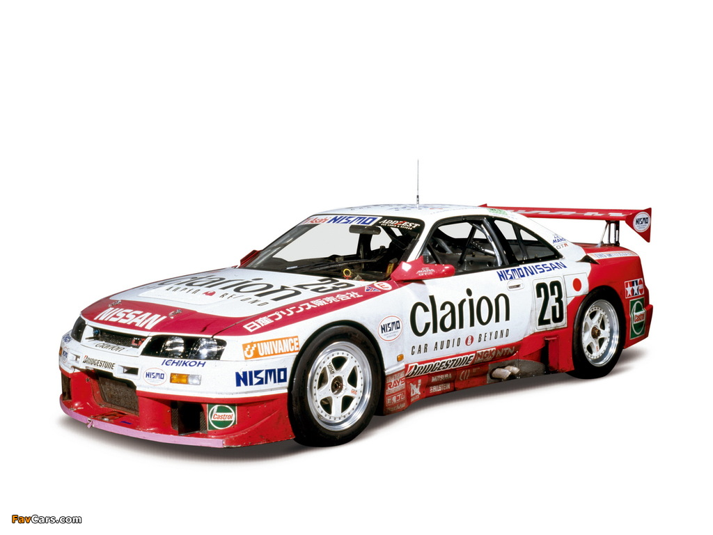 Pictures of Nismo Nissan Skyline GT-R LM (BCNR33) 1995–96 (1024 x 768)
