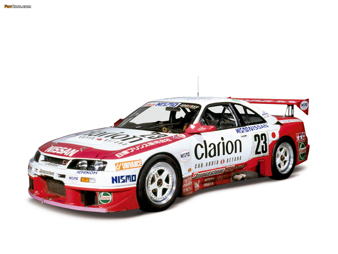 Pictures of Nismo Nissan Skyline GT-R LM (BCNR33) 1995–96 (1280 x 960)