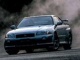 Pictures of Nissan Skyline GT-R (BNR34) 1999–2002