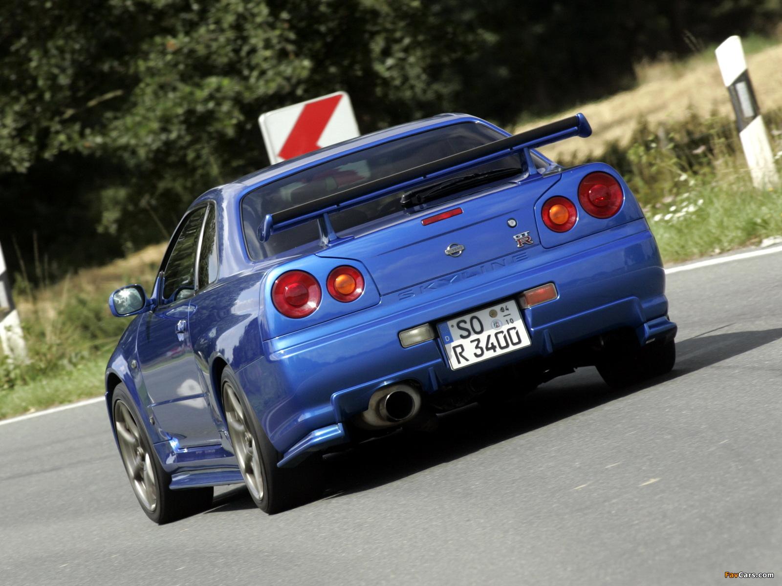 Pictures of Nissan Skyline GT-R (BNR34) 1999–2002 (1600 x 1200)