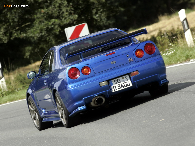 Pictures of Nissan Skyline GT-R (BNR34) 1999–2002 (800 x 600)