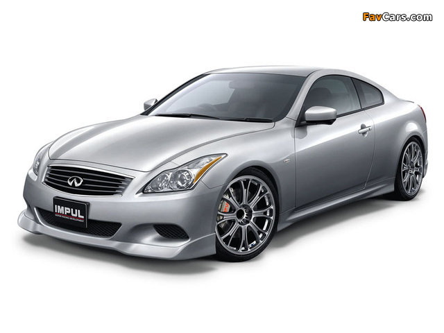 Pictures of Impul Nissan Skyline Coupe (CV36) 2007–10 (640 x 480)