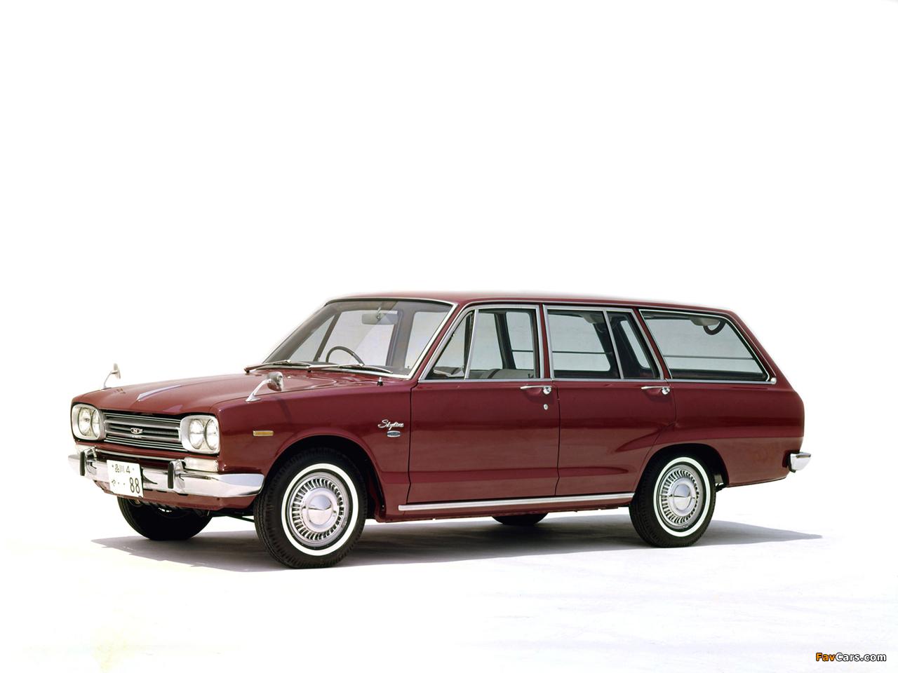 Nissan Skyline 1500 Van (VC10) 1968–72 wallpapers (1280 x 960)