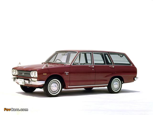 Nissan Skyline 1500 Van (VC10) 1968–72 wallpapers (640 x 480)