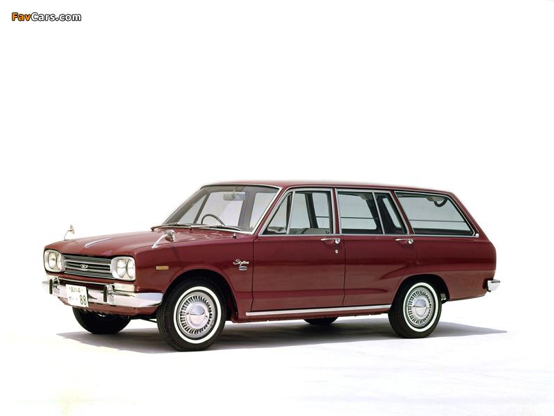 Nissan Skyline 1500 Van (VC10) 1968–72 wallpapers (800 x 600)