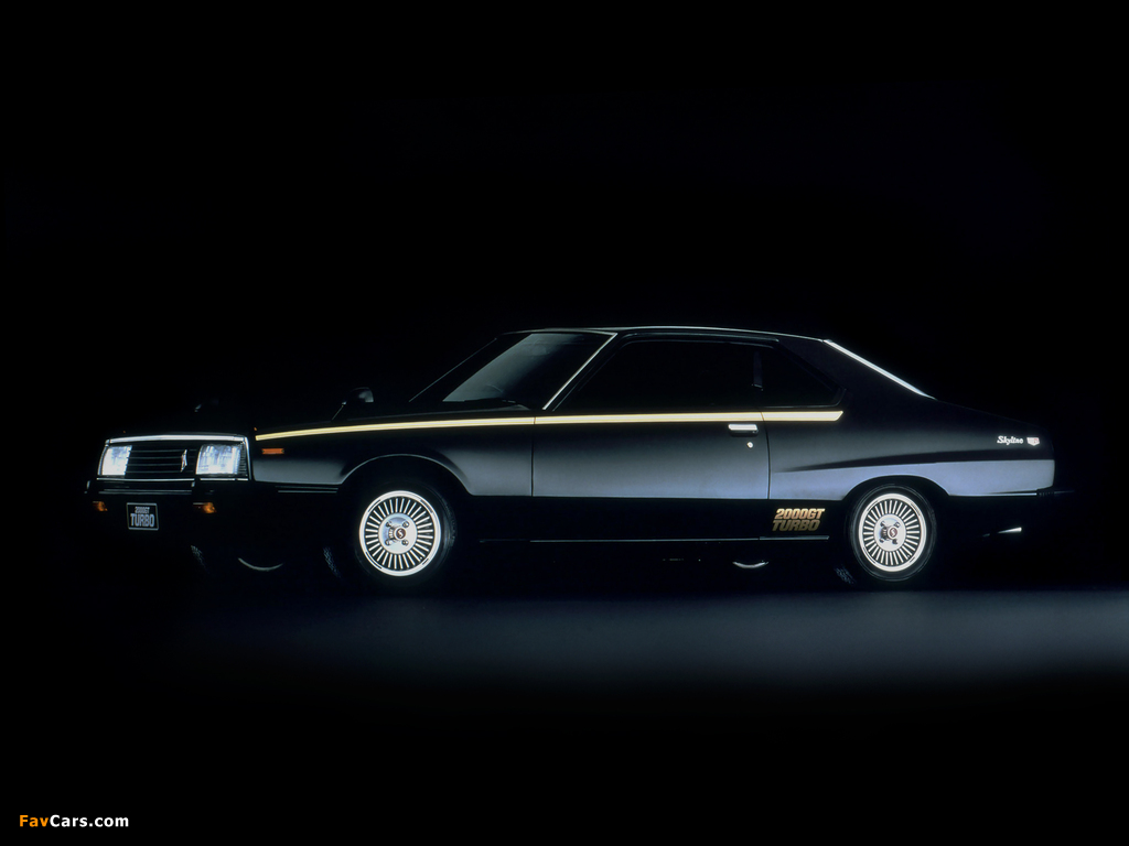 Nissan Skyline 2000GT Turbo Coupe (KHGC211) 1980–81 wallpapers (1024 x 768)