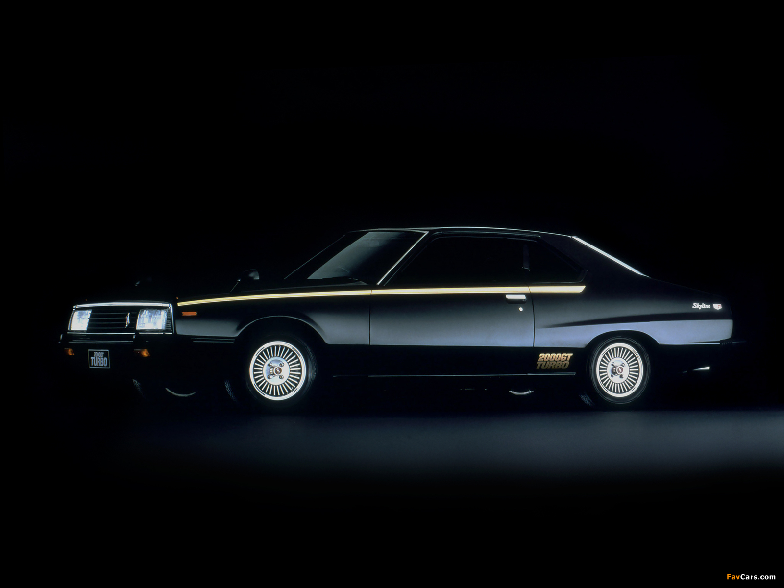 Nissan Skyline 2000GT Turbo Coupe (KHGC211) 1980–81 wallpapers (1600 x 1200)