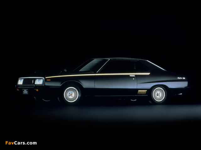Nissan Skyline 2000GT Turbo Coupe (KHGC211) 1980–81 wallpapers (640 x 480)