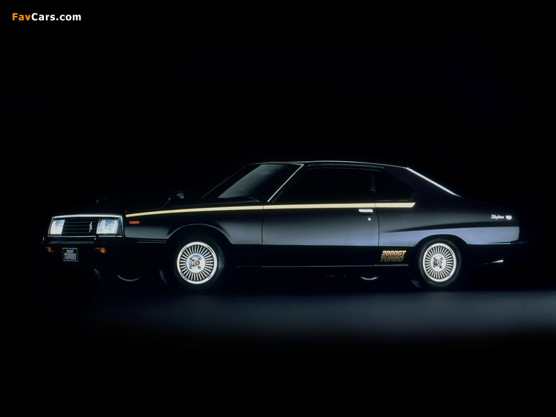 Nissan Skyline 2000GT Turbo Coupe (KHGC211) 1980–81 wallpapers (800 x 600)