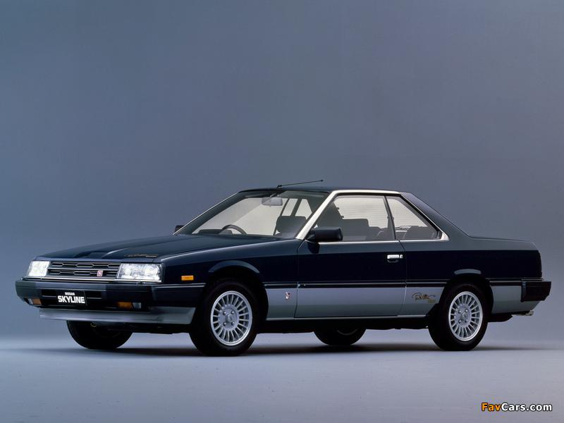 Nissan Skyline 2000GT-ES Paul Newman (KHR30JFT) 1983 wallpapers (800 x 600)