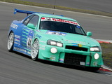 Nissan Skyline GT-R JGTC Race Car (BNR34) 1999–2003 wallpapers