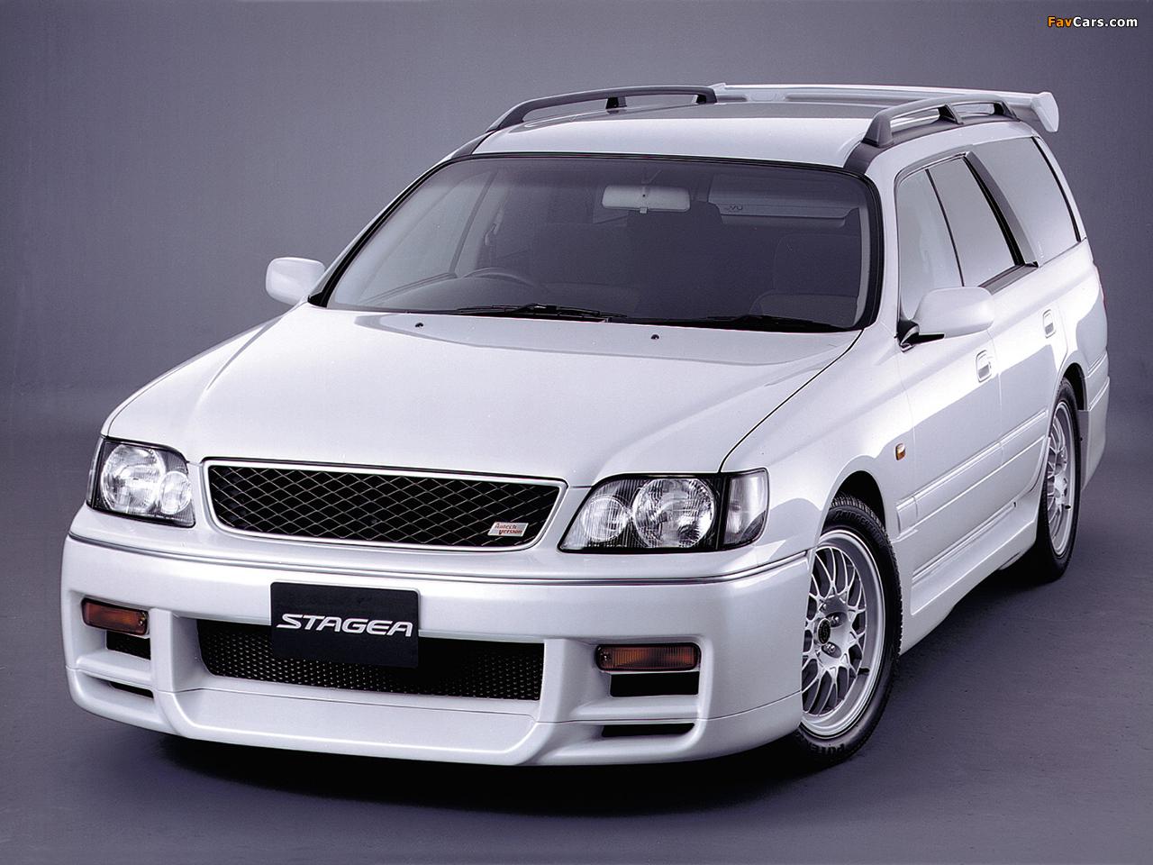 Images of Nissan Stagea Autech Version (E-WGNC34) 1997–2001 (1280 x 960)